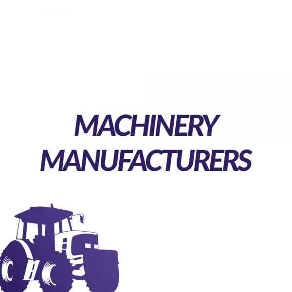 Machinery Manufacturers