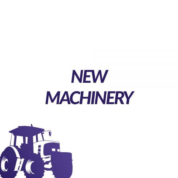 New Machinery